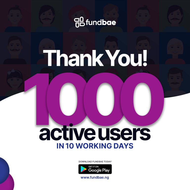 1,000 Users in 10 Working Days! Thank You!