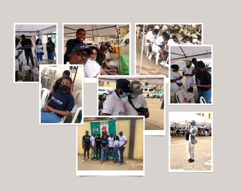 FundBae Team storms NYSC Lagos Camp